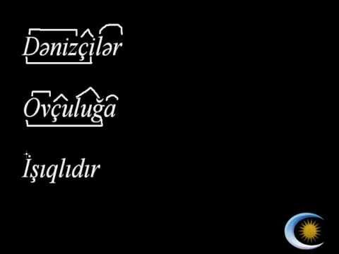 Azərbaycan dili 5-ci sinif 34. Sözün tərkibinə görə təhlil