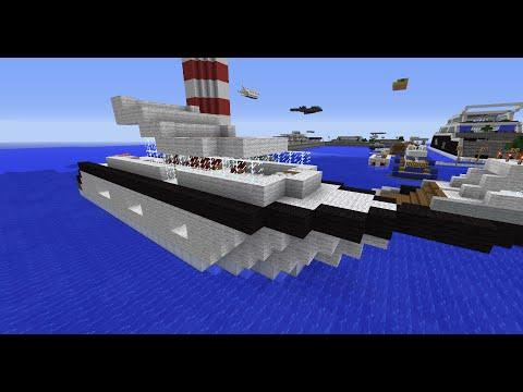 【Minecraft】自製船和飛機模組#18
