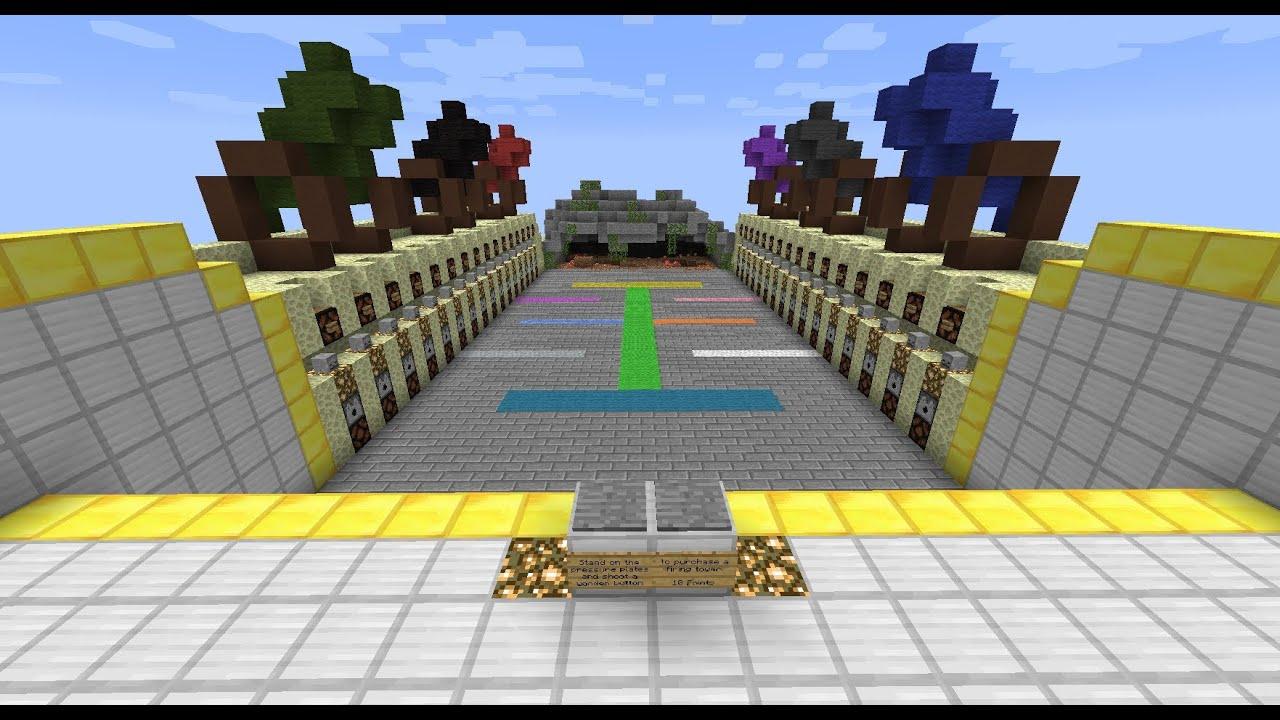 """Blocks vs. Zombies"": Minecraft Tower Defense Mini-Game ..."