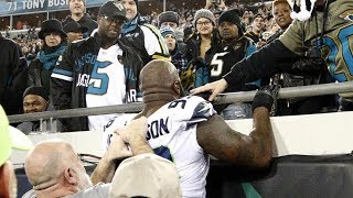 10 Ridiculous FEUDS Between Athletes and Fans