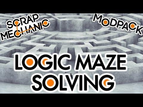 Download MAZE solving using ADVANCED logic in Scrap Mechanic