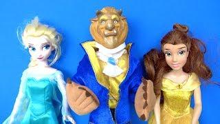 Frozen Elsa Neden Prensi Canavara dönüştürdü? Prenses Bella Niloya Heidi ne yapacak? Aldırma Şarkısı