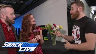Maria & Mike Kanellis show Sami Zayn that love hurts: SmackDown LIVE, July 11, 2017