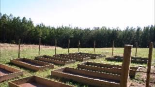 Raised Bed Vegetable Garden Video