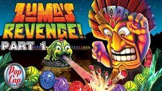 Zuma's Revenge [HD/Blind] Playthrough part 1 (Level 1-1 to 1-9) (Xbox 360)