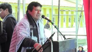 Alcalde de Junín Luis Alberto Solórzano Talaverano entrega obras de asfaltado en la Ciudad de Junín