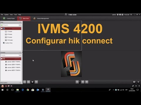 Configurar IVMS 4200 Hik Connect Hikvision Descargar E Instalar En Pc O Laptop