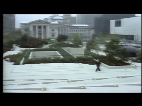 Jack Webster looks at Robson Square when it was opening in 1978