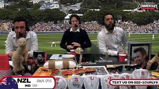Black Caps Vs India 1st Test Day 2
