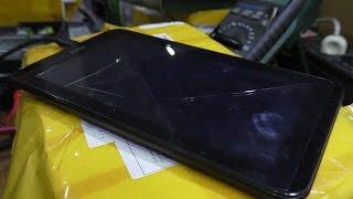 Разбито сенсорное стекло. Планшет Digma Optima 7.4 3G TT7024MG. Замена тачскрина