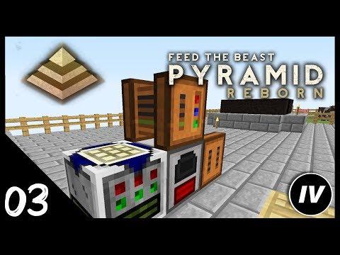FTB Pyramid Reborn - Ep 3 - Greenhouse Fan & RF Power Quests