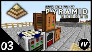 FTB Pyramid Reborn - Ep 3 - Greenhouse Fan & RF Power Quests