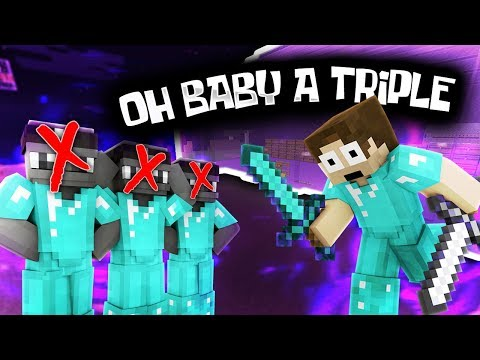 WE KILLED THE SAME PLAYER THREE TIMES -- IN ONE LETS PLAY! | Minecraft Factions