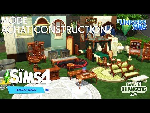 Les Sims 4 Monde Magique - Le mode achat et construction !