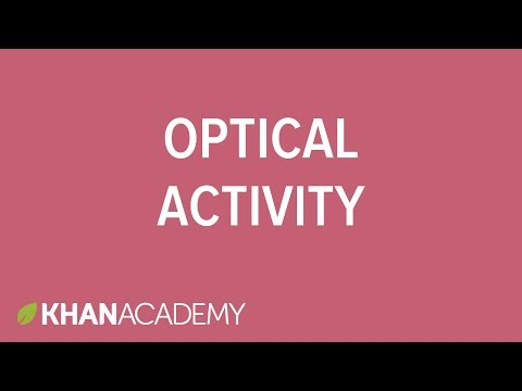 Optical activity | Stereochemistry | Organic chemistry | Khan Academy
