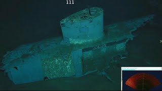 Up-close look at sunken USS Indianapolis, missing since WWII