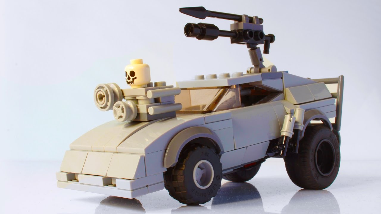 my lego mad max fury road razor cola interceptor with instructions youtube. Black Bedroom Furniture Sets. Home Design Ideas