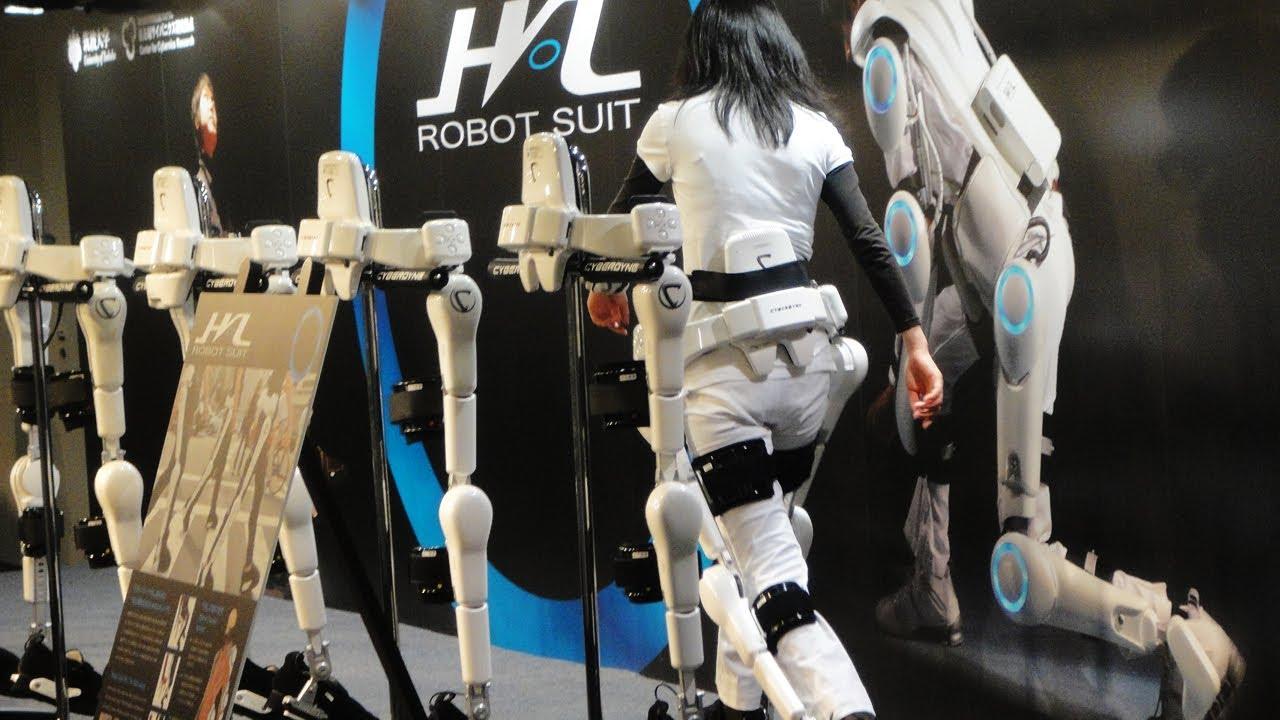 Real Wallpaper Girl ロボットスーツによる健康長寿社会を目指したサイバニクス研究 Diginfo Youtube