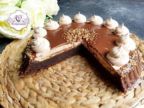 Leckerer Schoko Bananen Kuchen Cikolatali Muzlu Pasta Tarifi