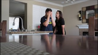 CAUGHT CHEATING PRANK ON GIRLFRIEND!!!!