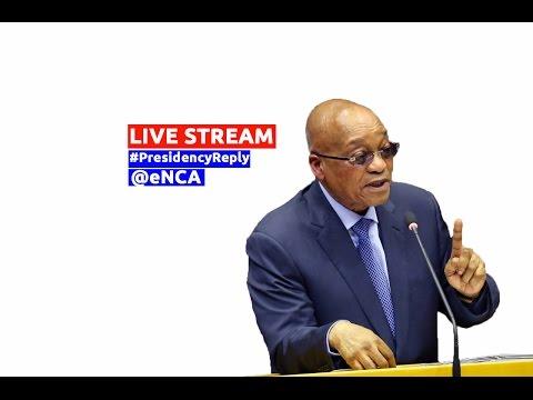 President Zuma responds to Presidency Budget debate