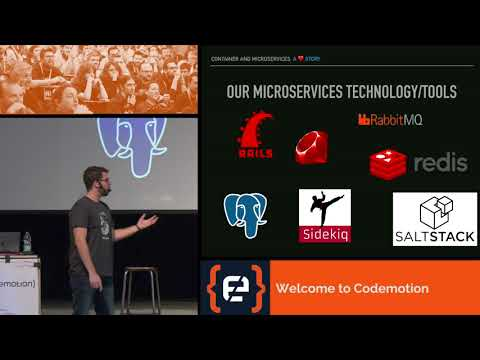 Container and microservices  a love story - Thomas Rossetto - Codemotion Milan 2017