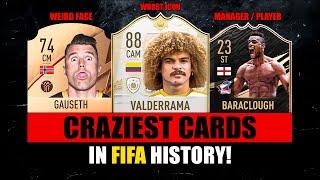 CRAZIEST CARDS IN FIFA HISTORY! 😵😱 FIFA 10 - FIFA 22