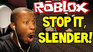 ROBLOX STOP IT SLENDER SCARY SCHOOL Part 1