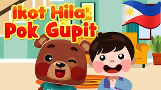 Ikot Hila Pok Gupit Filipino | Philippines Kids Nursery Rhymes & Songs | Awiting Pambata