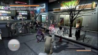 Yakuza 4 Battle - Gameplay -
