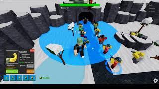 Детские игры Roblox [Обновление!] Башня Обороны проходим на легком уровне боса