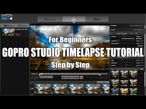 How To Edit Timelapses With GoPro Studio Tutorial | Tips & Tricks