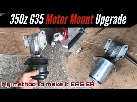How to Install/Replace Nissan 350z & Infiniti G35 Motor Mounts