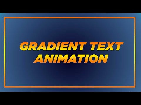 CSS Gradient Text Background Animation