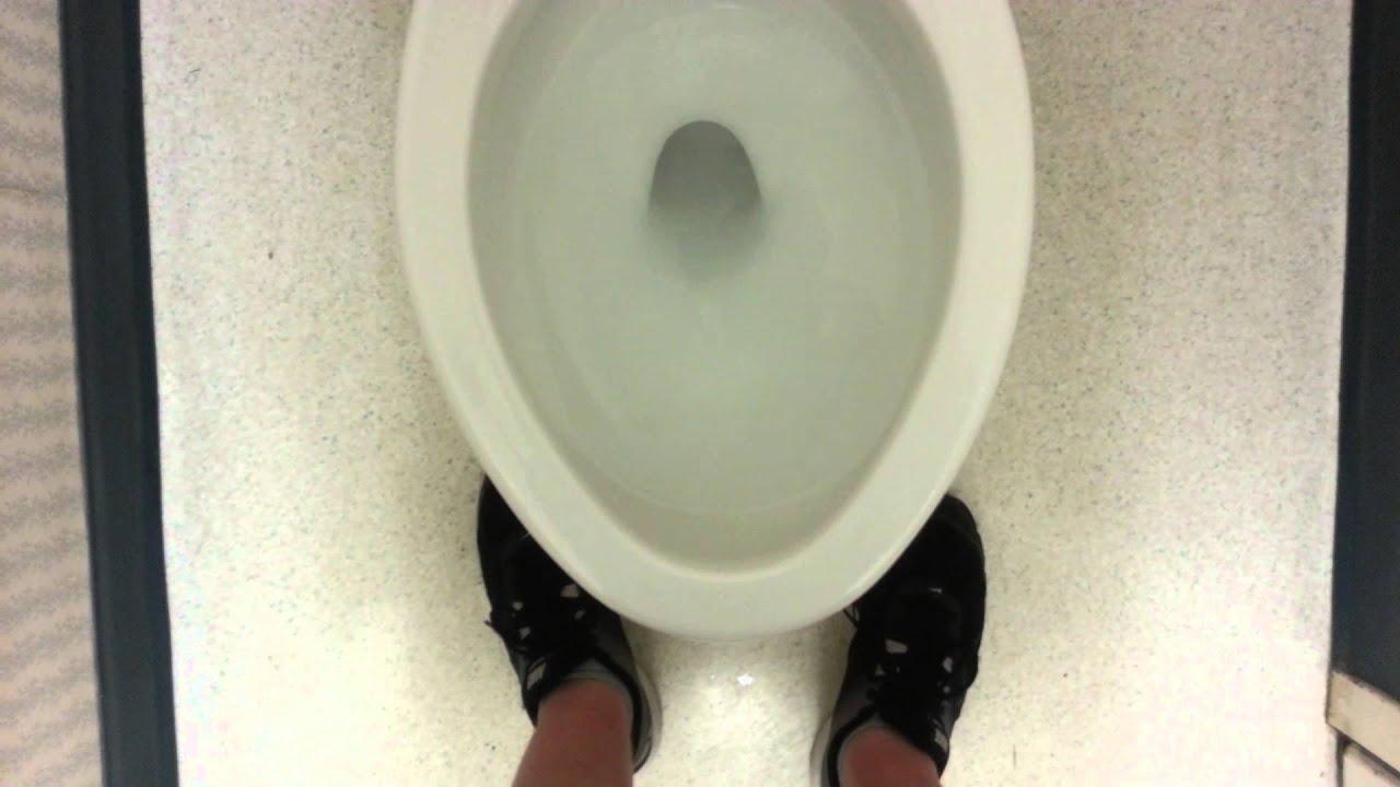 Old American Standard toilet - YouTube