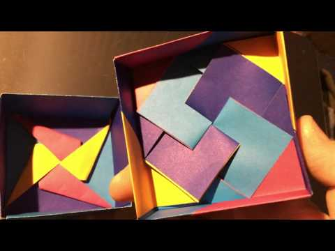 Variation of Tomoko Fuse origami box