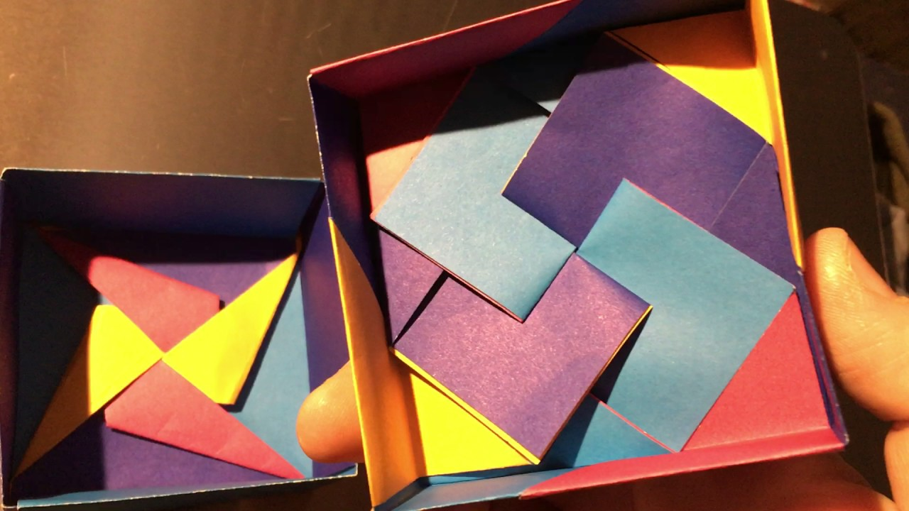 Variation Of Tomoko Fuse Origami Box Youtube Boxes S