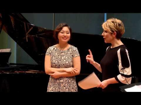 """Joyce DiDonato Master Class 2015: Rossini's """"Bel raggio lusinghier"""" from Semiramide"""