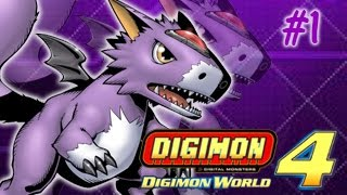 Digimon World 4 Walkthrough Part 1 - Game Opening, Introduction and Tutorial