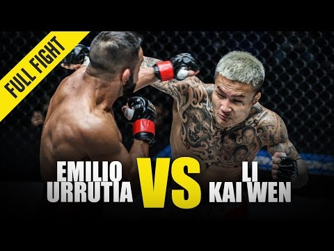 Emilio Urrutia Vs. Li Kai Wen | ONE Full Fight | July 2018