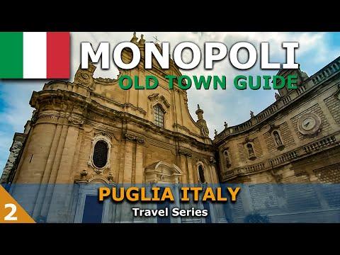 Monopoli Puglia - Old Town Walking Guide