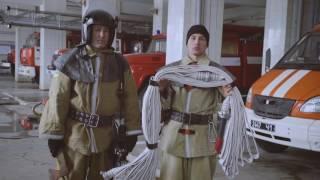 Навички вогнеборців. Урок 7: Укладка пожежного рукава. Гармошка.
