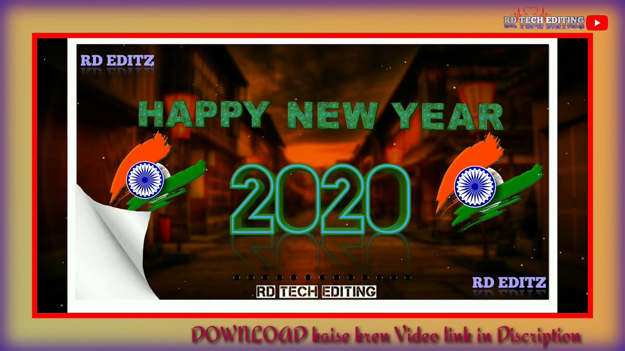 Happy New Year 2020 Awesome Avee Player Template Make A Status