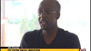 Zylofon Naija Invasion - AM Showbiz on JoyNews (5-9-18)