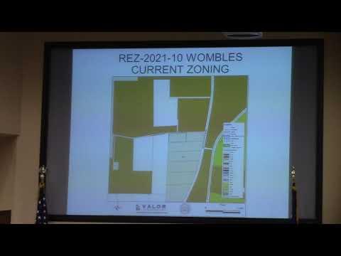 6.c. REZ-2021-10 Wombles, Lineberger Road (0091 037), E-A to R-A