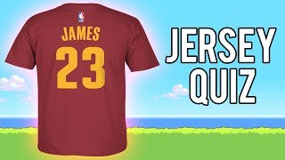 Easiest Quiz For 2K Players LOL || Guess The Jersey Number ( NBA QUIZ)