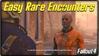 Fallout 4 Unique Encounters Guide How to get Rare Traders Other Special NPCs Easily