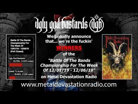 """UGB wins the """"Battle Of The Bands Championship For The Week Of 12/01/19 - 12/06/19"""" on MDR"""