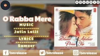 O Mere Rabba Dil Kyun Banaya | Anuradha Paudwal | KK | Dhaai Akshar Prem Ke 2000 | BMR
