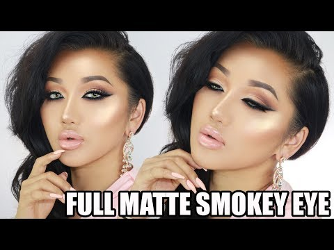 affordable-full-matte-neutral-smokey-eye-tutorial-||-prom-makeup